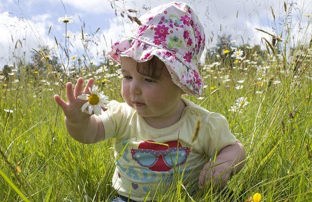szycie czapki dla dziewczynki